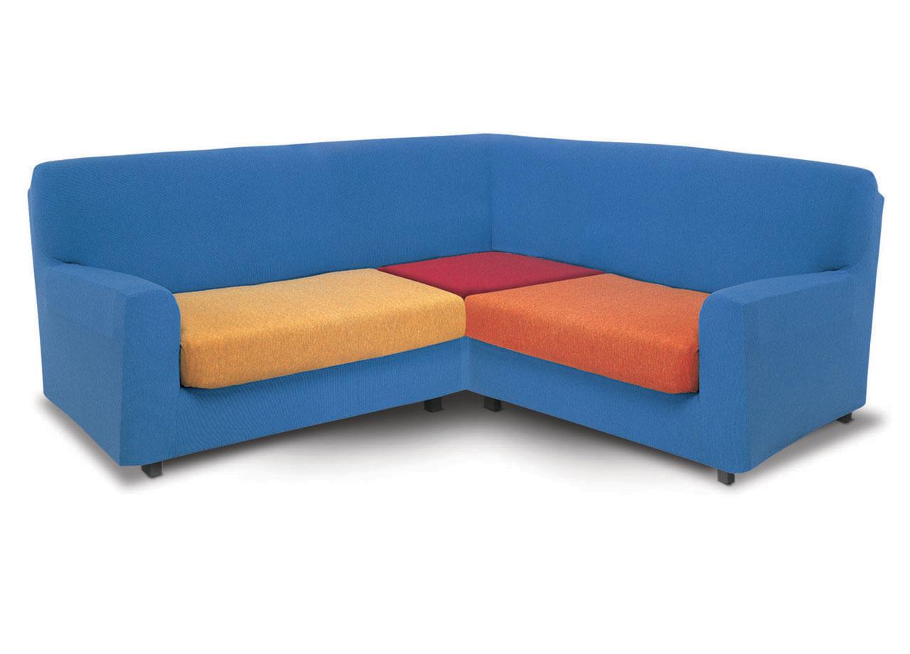 Copridivano angolare new york in tinta unita l t ebay - Copri divano angolare ...