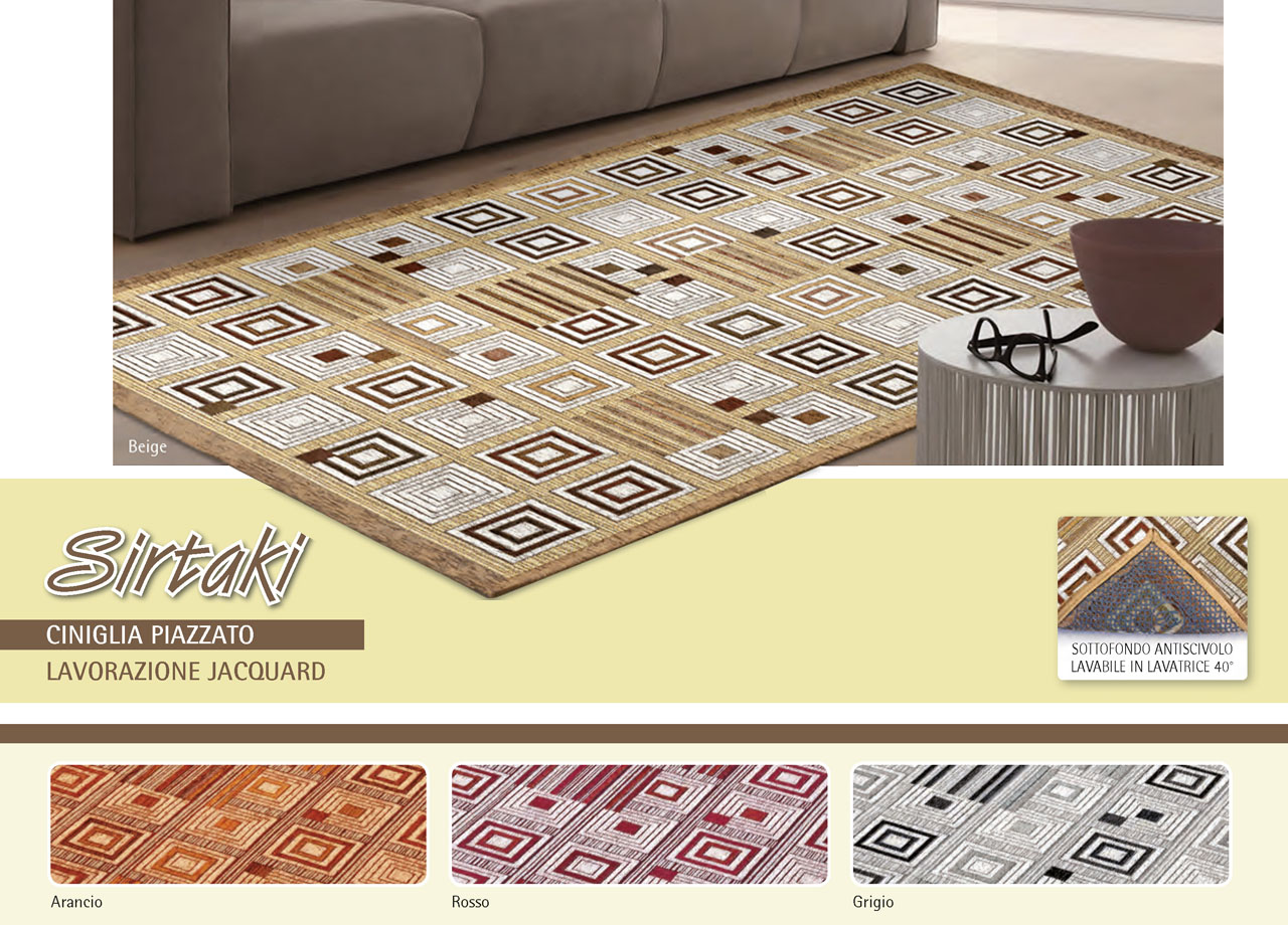 Tappeto Da Salotto E Da Camera Disegno Sirtaki | eBay
